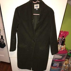 OKD NAVY Wool coat